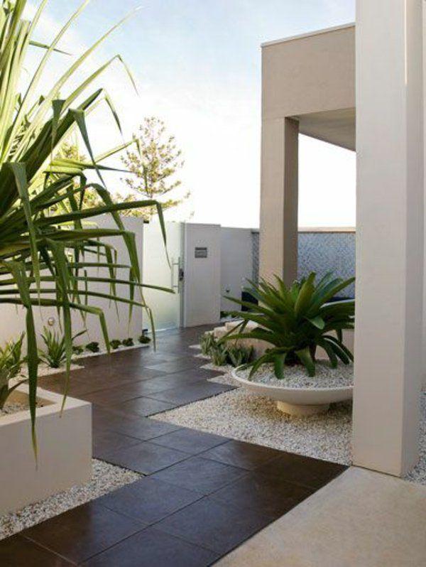 17 meilleures id es propos de jardin minimaliste sur. Black Bedroom Furniture Sets. Home Design Ideas