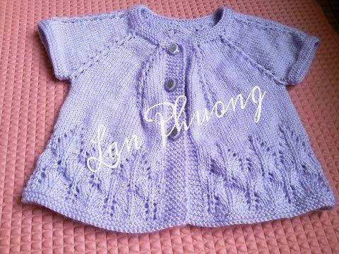 [Knitting] Part 1- Hướng dẫn đan áo cho bé kiểu 1 - Knitting sweater for baby - YouTube