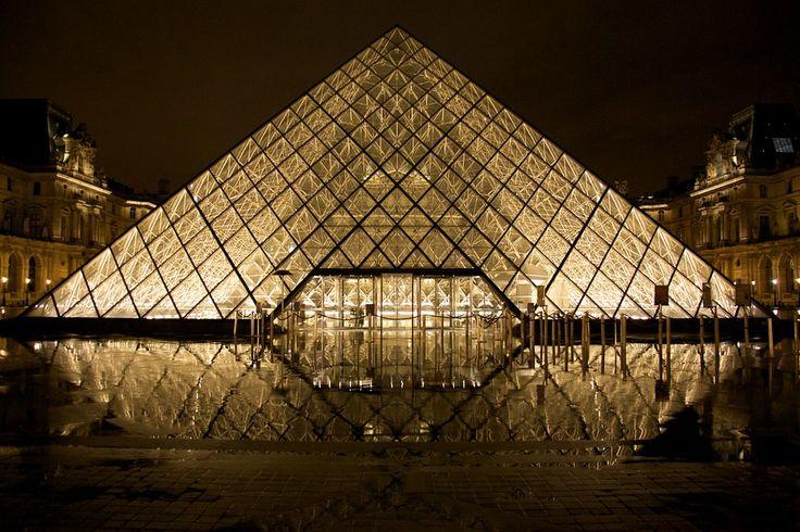 Kostenloses Foto: Louvre, Glaspyramide, Paris - Kostenloses Bild auf Pixabay - 530058