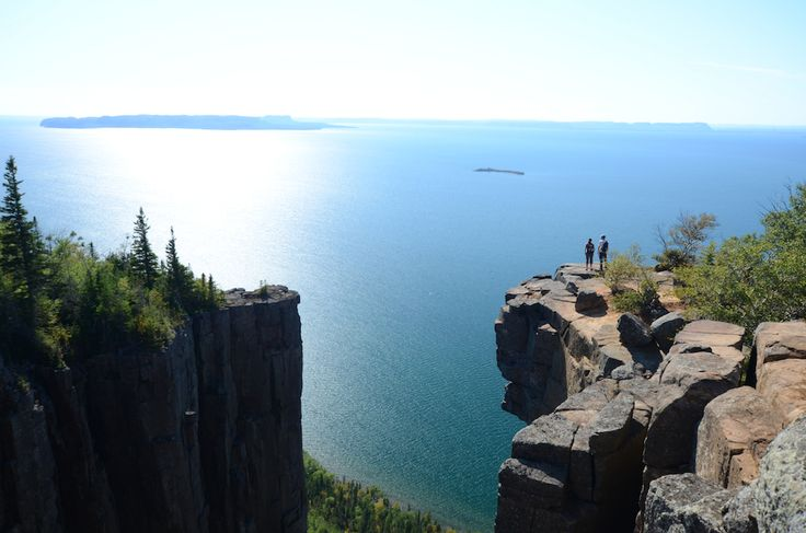 14 Surreal Places In Ontario You Won't Believe Really Exist |The Sleeping Giant, Thunder Bay