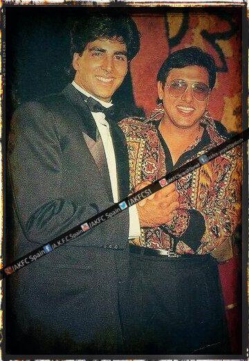 Old Photo : Akshay Kumar sir with Govinda 90s