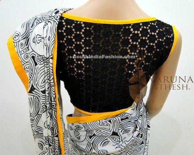 Hyderabad Shopping Celebrity Sarees, Designer Sarees, Bridal Sarees, Latest Blouse Designs 2014 South India Fashion