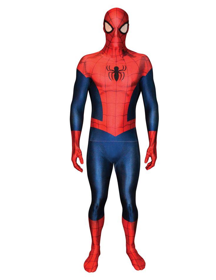 Marvel Amazing Spiderman 2 Morphsuit Lizenzware rot-blau , günstige Faschings  Kostüme bei Karneval Megastore, der größte Karneval und Faschings Kostüm- und Partyartikel Online Shop Europas!