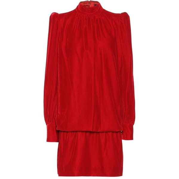 Marc Jacobs Velvet Dress ($900) ❤ liked on Polyvore featuring dresses, red, red dress, marc jacobs, velvet dress, marc jacobs dress and red velvet dresses