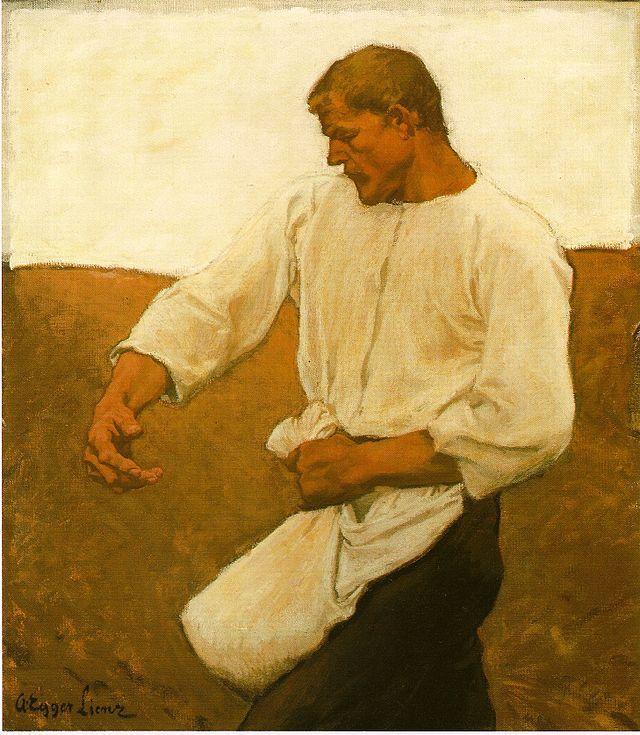 Egger-Lienz - Sämann - 1908 - Albin Egger-Lienz – Wikimedia Commons