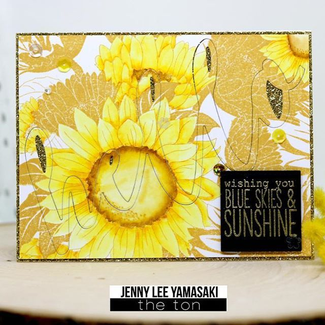 I have couple of bright sunflower cards up on @thetonstamps today! Hope you could stop by and check them out! Clickable link in my bio! ❤️ https://thetonstampsblog.com/2017/04/26/bright-and-happy-sunflowers/ Hope you have a bright and happy day! 🌻 #papercraft #cardmaking #handmade #handmadecard #handmadebyJLy #stamping #thetonstamps #coloring #핸드메이드 #핸드메이드카드 #수제카드 #스탬핑 #컬러링 #카드메이킹 #해바라기