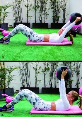 treino de abdominal