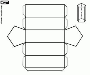 malvorlagen Pentagonal Prisma ausmalbilder