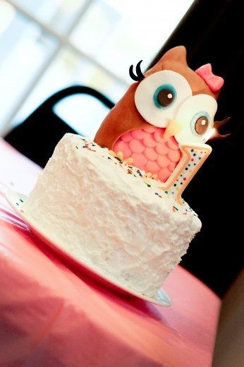 for her little cakeOwls Smash, Baby Shower Ideas, Smash Cakes, Cake Ideas, 1St Birthday, Owls Cake, Owl Cakes, Birthday Cake, Birthday Ideas