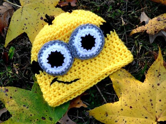 24 Besten Minions Bilder Auf Pinterest Gehkelte Mtzen