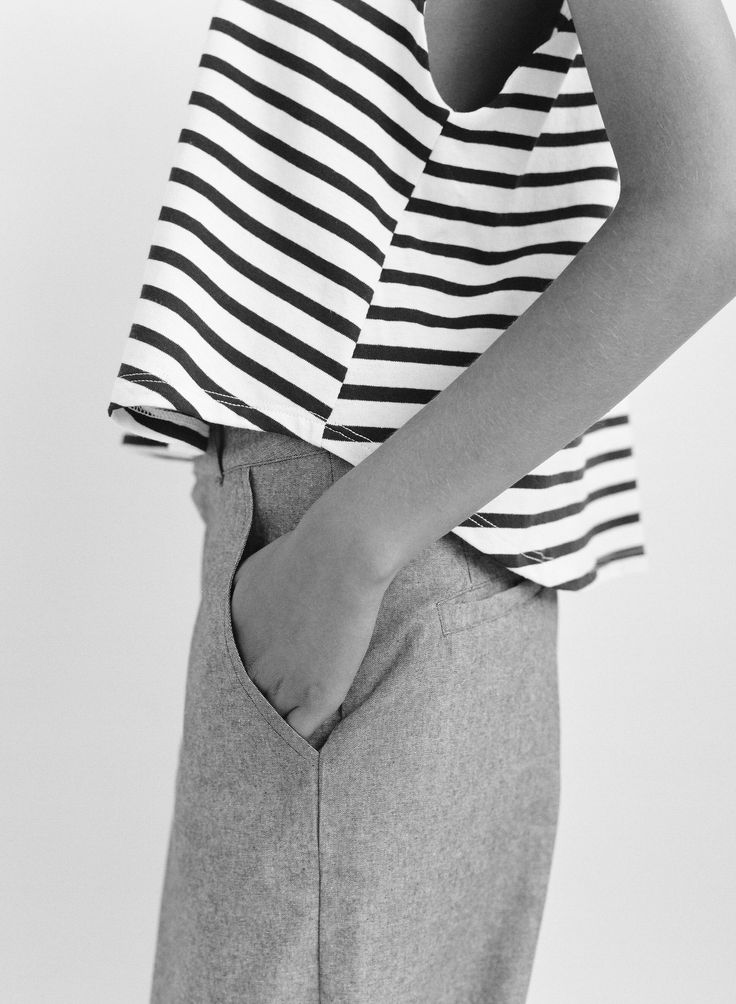 Chic Stripes - striped top & trousers // SMOCK by Mohawk