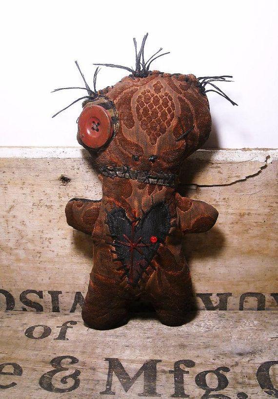 Handmade Voodoo Doll Voodoo Clouet by JunkerJane