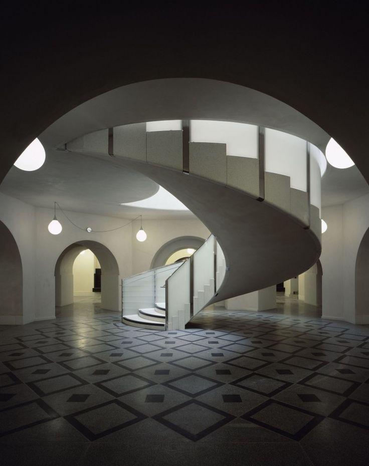 The main rotunda at the Tate Britain, by Caruso St John