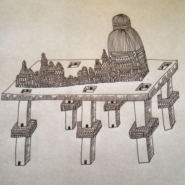 Ink city by L. Arjona