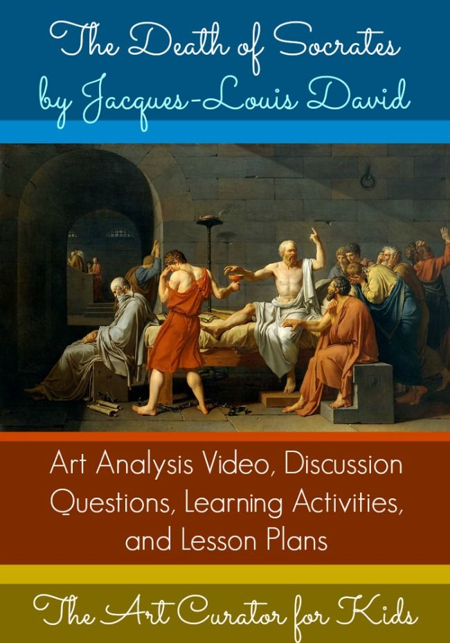 an analysis of jacques louis davis painting the death of socrates Love reading analysis of famous paintings famous paintings demonstrated than in three famous paintings by jacques louis david: death of socrates.