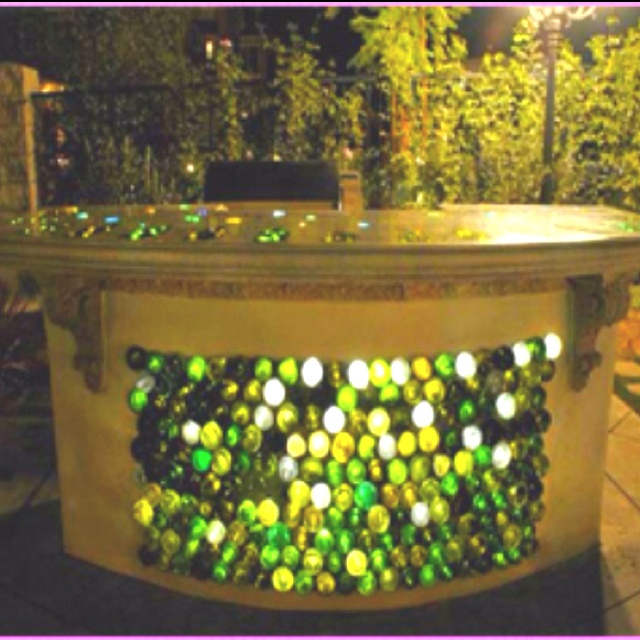 141 best images about inside bar ideas on pinterest man for Outdoor decorating with wine bottles