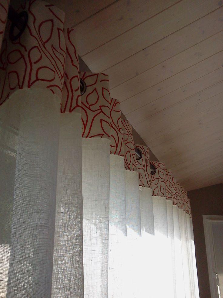 t te de tissu appliqu e sur voilage voilage pierre frey et tissu boussac les voilages chez. Black Bedroom Furniture Sets. Home Design Ideas