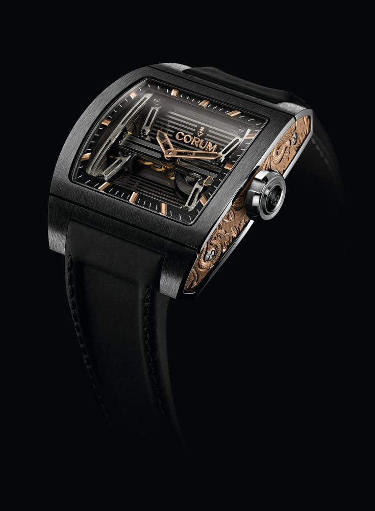 CORUM: TI-BRIDGE 3-DAY POWER RESERVE  http://www.orologi.com/news/corum-per-only-watch-2013