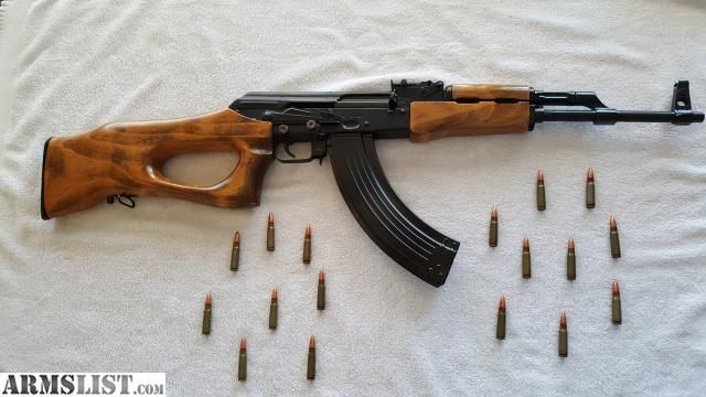 Hungarian AK-47 (Sa-85m)  This shoots really well and is one