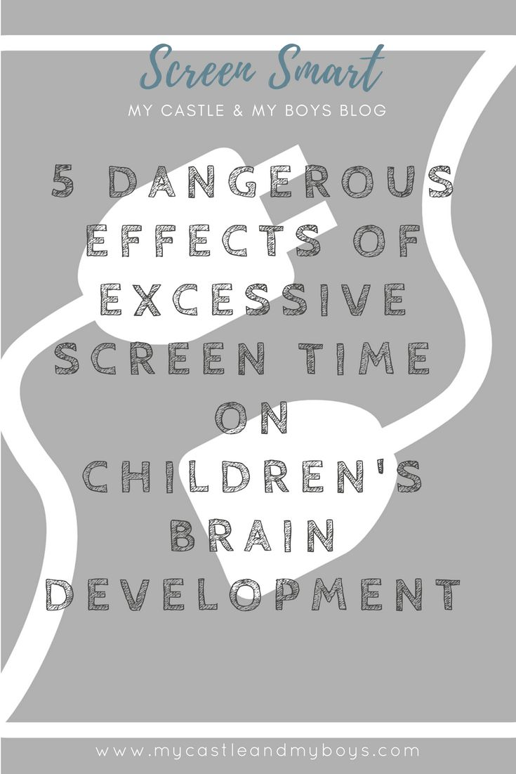 Experts agree that there are many negative effects on our children's brain development when they have too much screen time.  Read more by clicking VISIT.