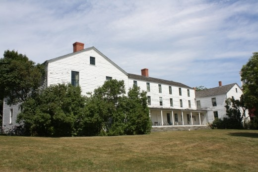 The haunted Mission House~Mackinac Island    Built in 1825 by missionaries William and Amanda Ferry.