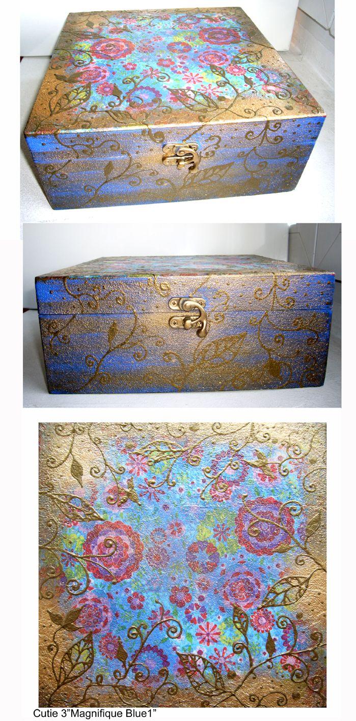 """Box""""Magnifique Blue1"""""""