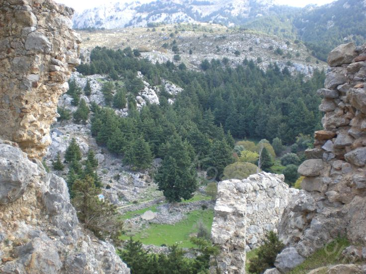 Views from Old Pyli Castle!