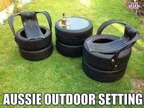 Aussie Outdoor Setting