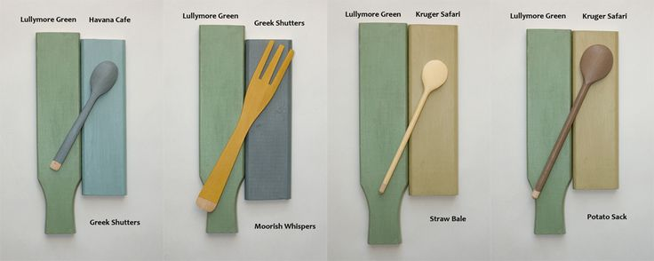 Lullymore Green s dalšími odstíny