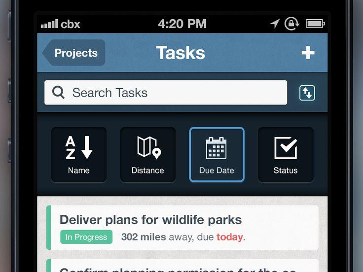 ManagePlaces: Tasks - Sort Order