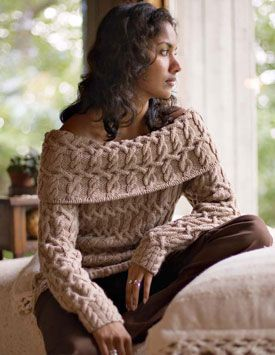 Get ideas for your cable knitting, including cable knit sweaters and more!
