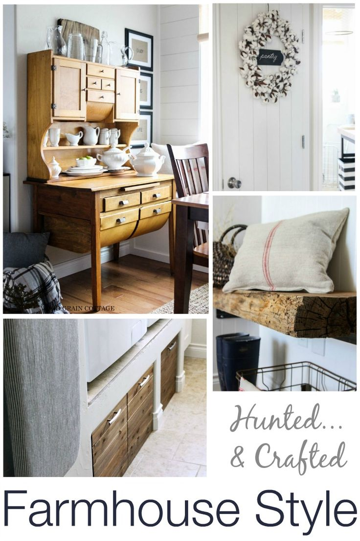 Vintage Farmhouse Find treasure hunting with The Wood Grain Cottage