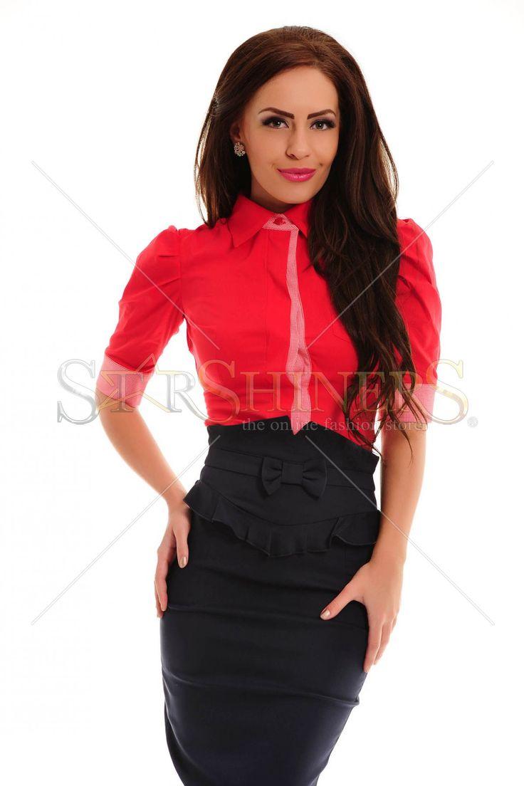 Artista Office Simplicity Red Shirt
