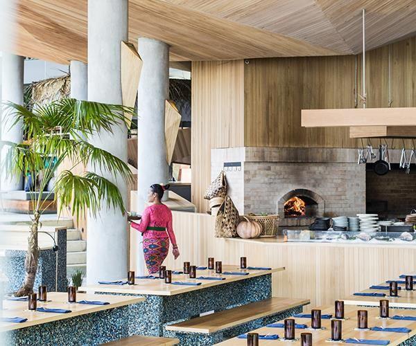 A zero-waste restaurant has opened in Bali