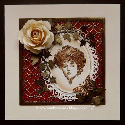 Sandma's Handmade Cards: Vintage Beauty