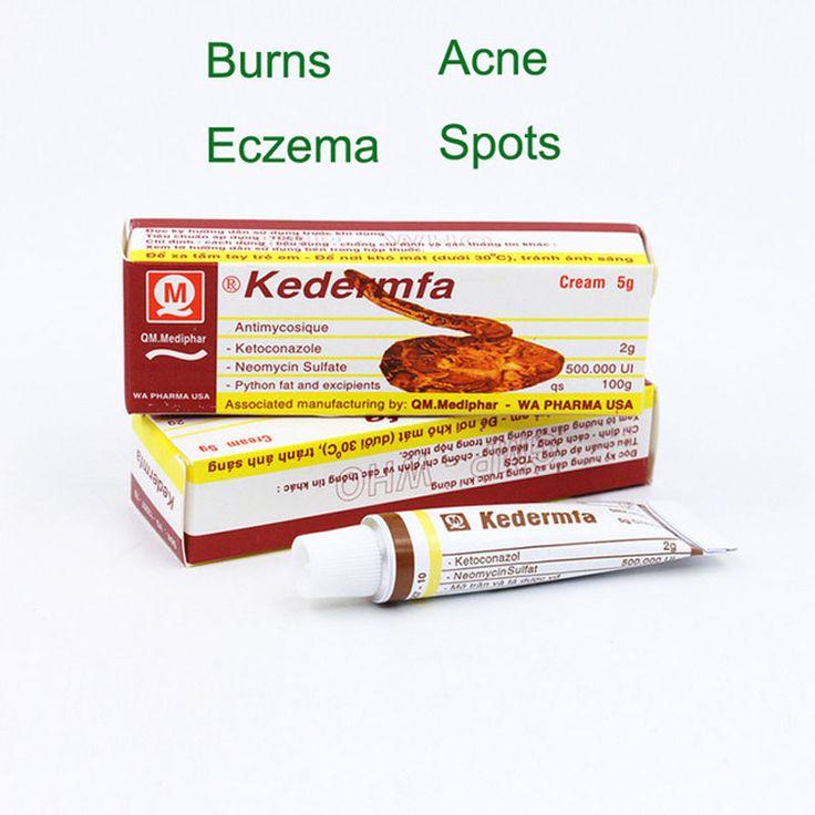 Vietnam kedermfa Pure Snake ointment for Burn Scald Skin cracking Eczema Athlete's foot
