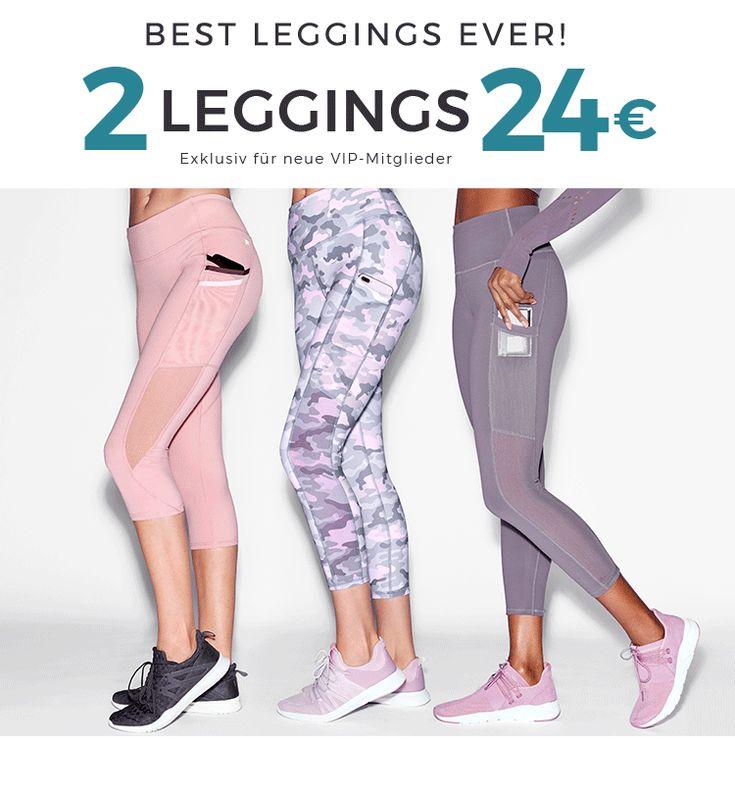2 leggings für 24€