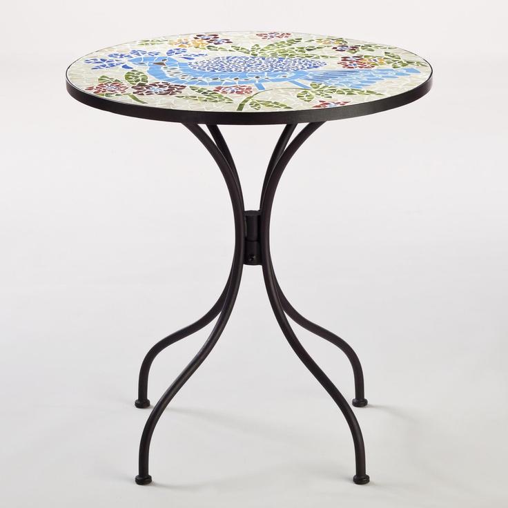 Rio Bird Cadiz Mosaic Bistro Table World Market