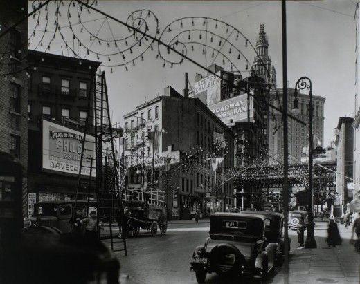 Vintage New York in 1935-38