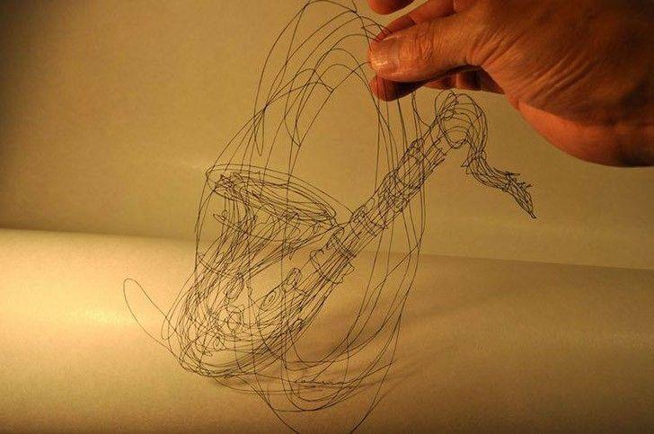 Резьба по бумаге японского мастера Акира Нагая