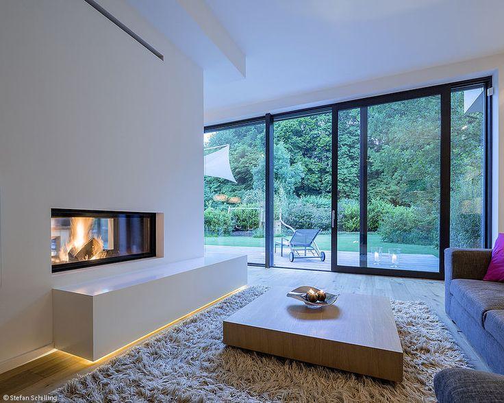 Traumhaus inneneinrichtung modern  Die besten 25+ Moderne fenster Ideen auf Pinterest | Esszimmer ...