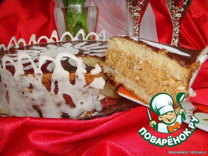 """Торт """"Сникерс"""" - кулинарный рецепт"""