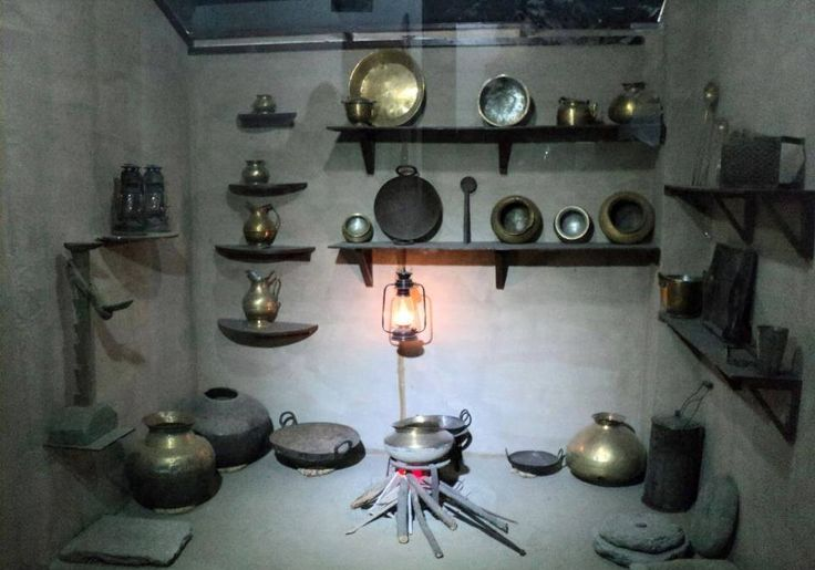 Traditional Kitchen... Himachal