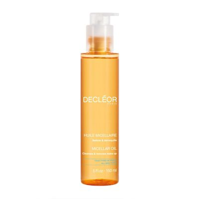 Decleor Micellar Oil effectively cleanses the skin and removes make-up including waterproof mascara whilst respecting the skin. Benefits of active ingredients: - Deeply...