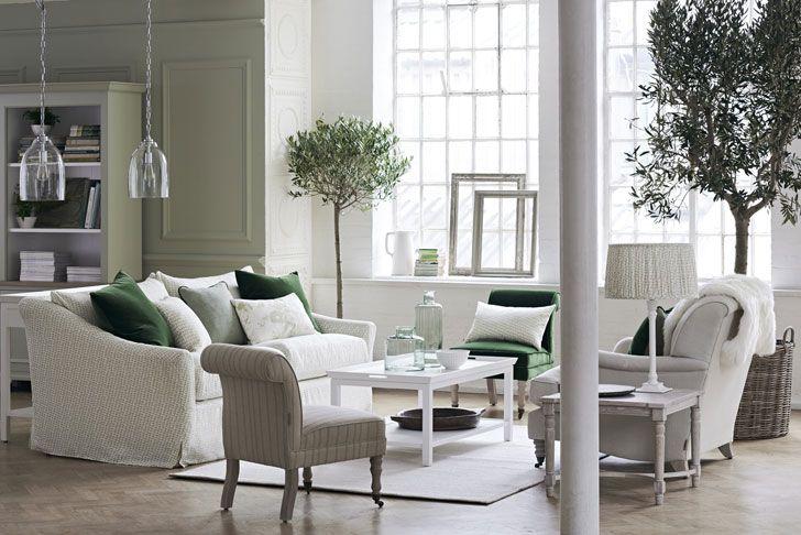 Восхитительные оттенки зеленого в новой коллекции Neptune | Пуфик - блог о дизайне интерьера