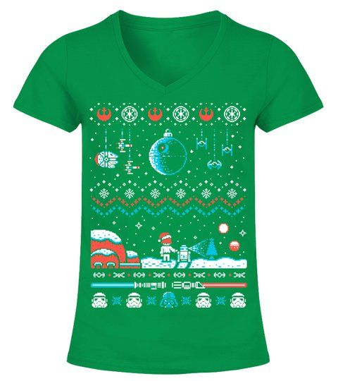 Star Wars Christmas Ugly Sweater in 2018 Movies shirts Pinterest