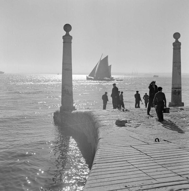 arturpastor: Lisboa, Tejo. Décadas de 50/60.