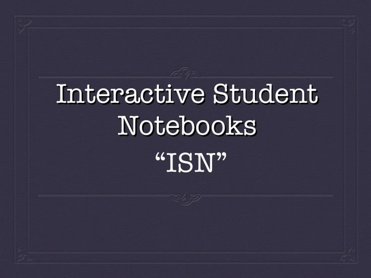 Using Interactive Student Notebooks in the Spanish classroom.
