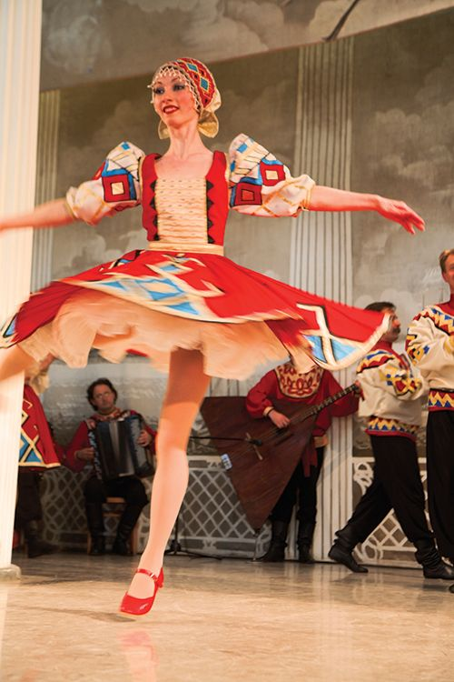 Traditional Russian Folk Dance.