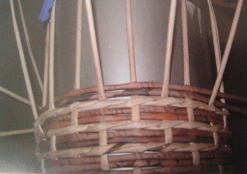 Hřebenová vazba :: Pletení z papíru Hanča Čápule